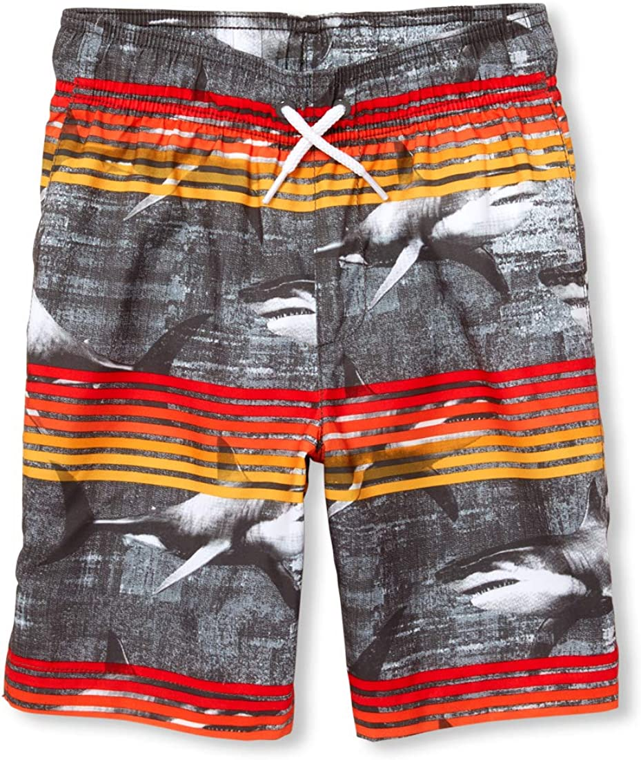 The Childrens Place Baby Boys Printed Swim Trunks