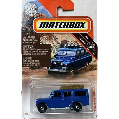 Matchbox '65 Land Rover GEN II Blue: Toys & Games