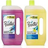 Amazon Brand - Presto! Disinfectant Surface Cleaner, Pack of 2 - 975 ml (Citrus & Lavender)