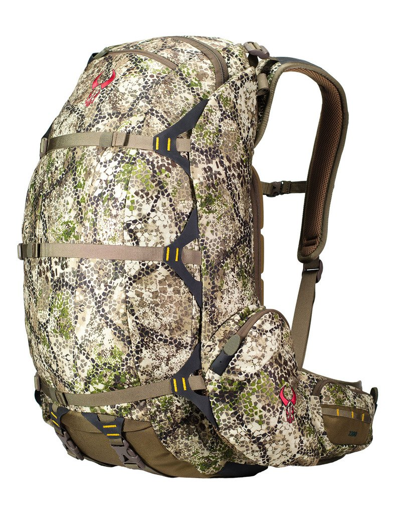 Badlands 2200 Camouflage Hunting Backpack - Meat Hauler - Rifle, Bow, and Pistol Compatible and Hydration Compatible by Badlands