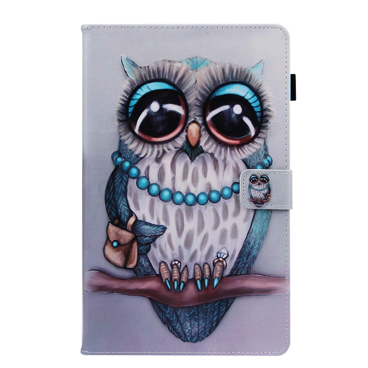SHUYIT Samsung Galaxy Tab A 10.1 2019 SM-T510 T515 Caso Color PU Cuero Billetera Flip Case Cover Carcasa con Bolsillo y Soporte para Samsung Galaxy Tab A 10.1 2019 SM-T510 T515 Funda