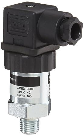 14-30 VDC 0-100 psig Pressure Range NOSHOK 300 Series Compact OEM Pressure Transducer 0-10 VDC 3-Wire Output = 10,000 Ohm 1//4 NPT Male +//-0.5/% Accuracy