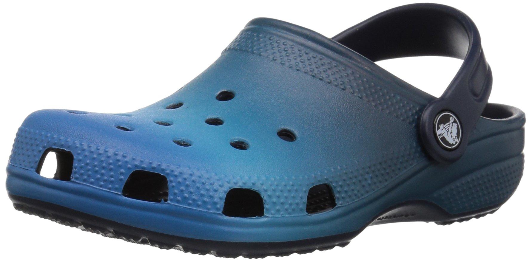 Crocs Crocband Fun Lab Light-Up Clog, Blue, C10 M US Toddler