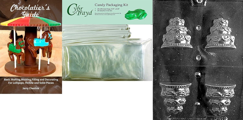Cybrtrayd W071 Love Cookie Wedding Chocolate Candy Mold