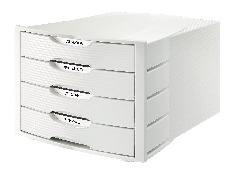 Cassettiera Monitor HAN - grigio/grigio - 4 cassetti - 1001.D.11 1001-K-11