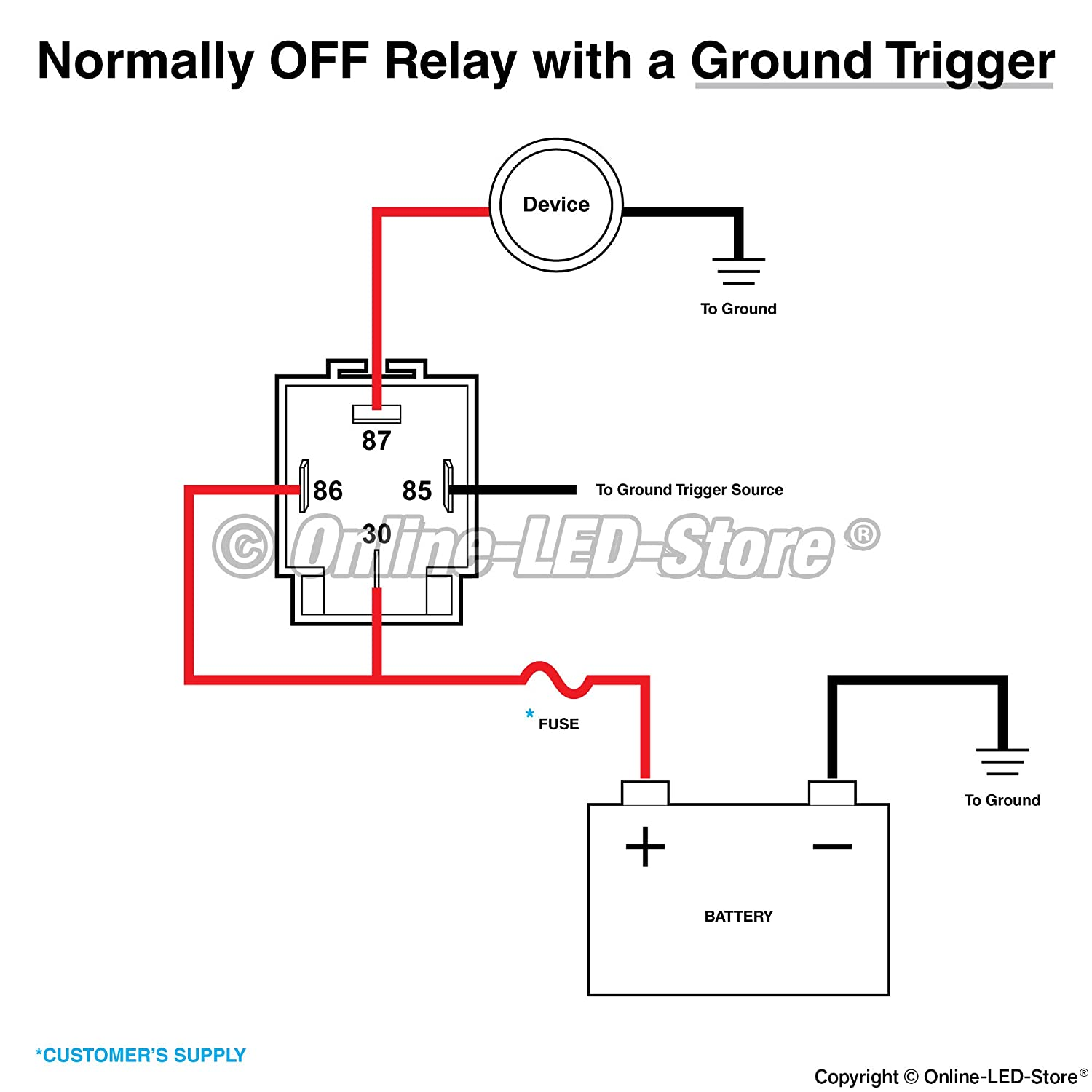 pole relay wiring diagram for lights free download