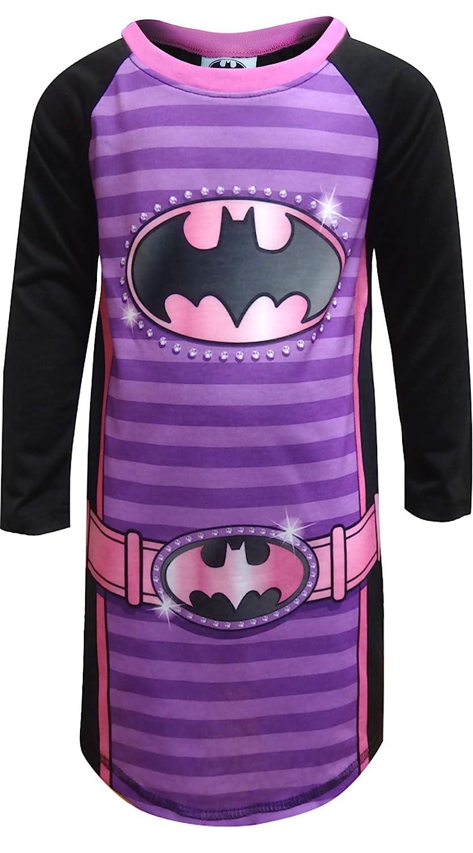 DC Comics Batgirl Logo Nightgown for Little Girls BW016GDLZ