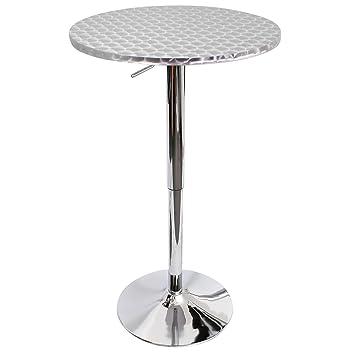Amazon.com: lumisource Bistro – Mesa alta de bar: Kitchen ...