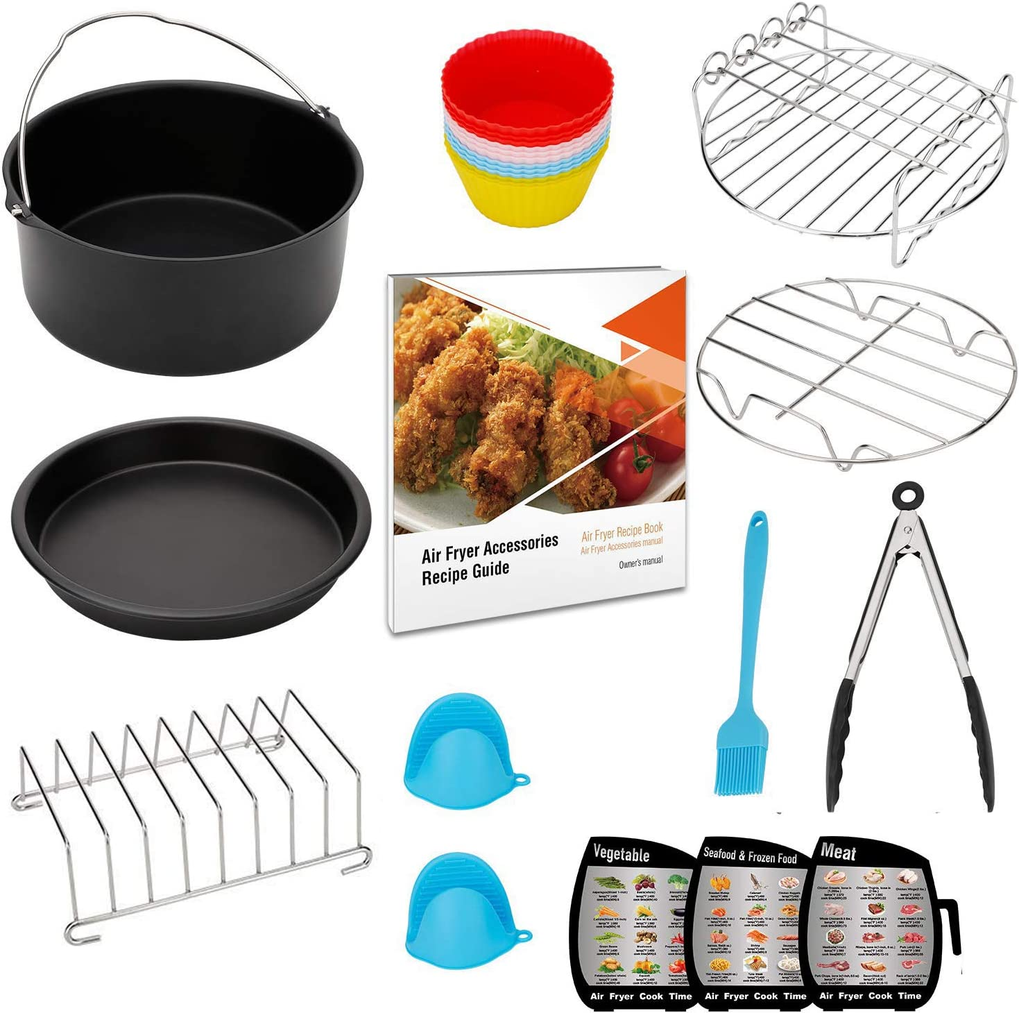 Deluxe Se Xl Air Fryer Accessories Xl For Power Airfryer Xl Gowise And Phillips