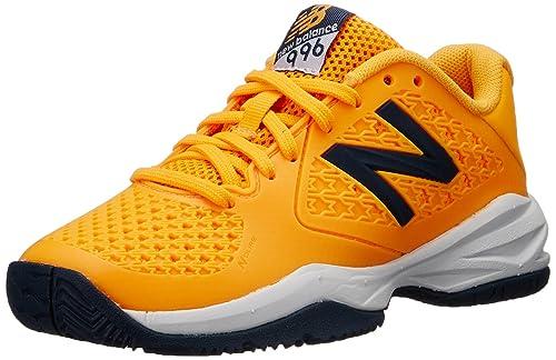 0040fc1f94d41 New Balance KC996 Youth Tennis Shoe (Little Kid/Big Kid), Orange, 3 ...