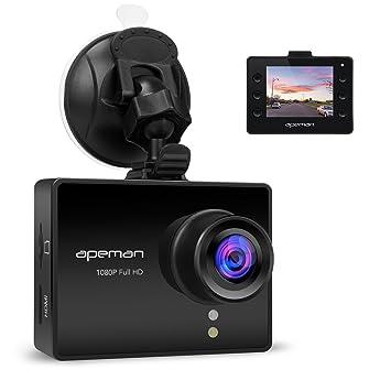 apeman in car dash cam full hd 1080p sony imx323 sensor. Black Bedroom Furniture Sets. Home Design Ideas