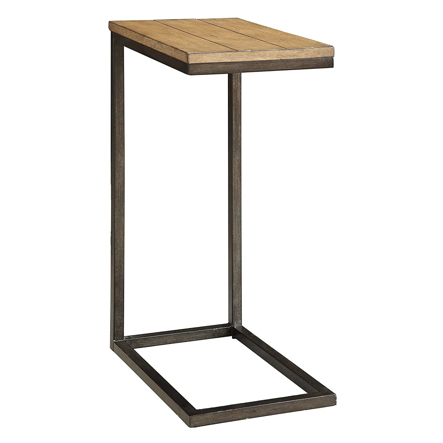 Carolina Chair and Table Ashley Computer Tray Table, Chestnut/Black