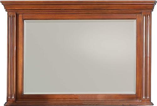 The Bedroom Store | 53″ x 35″ Solid Wood Construction Framed Dresser Beveled Mirror