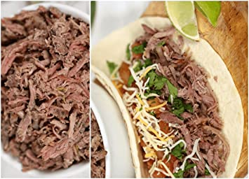 Pork Carnitas (Six 1 lb Pouches) - Ship To These States Only: AL