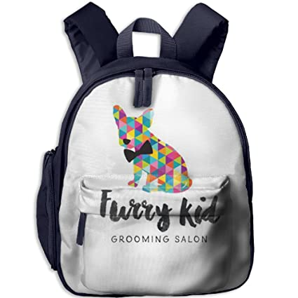 "Kid Dog Lightweight Book Bag Lovely Cartoon Animal Kids School Daypack Fishing Children Kindergarten Backpacks 12.5"""