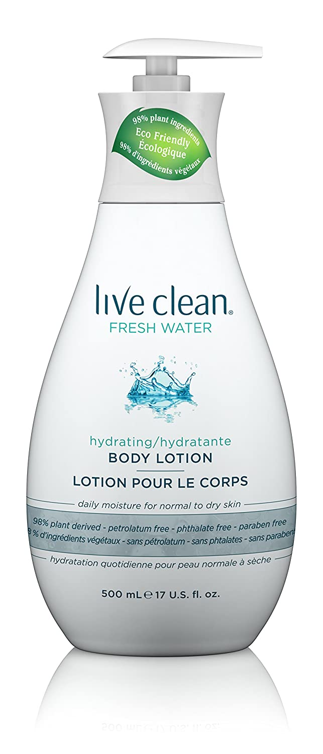 Live Clean Fresh Water Moisturizing Body Lotion