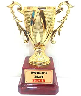 happy giftmart wood personalized best sister award certificate on
