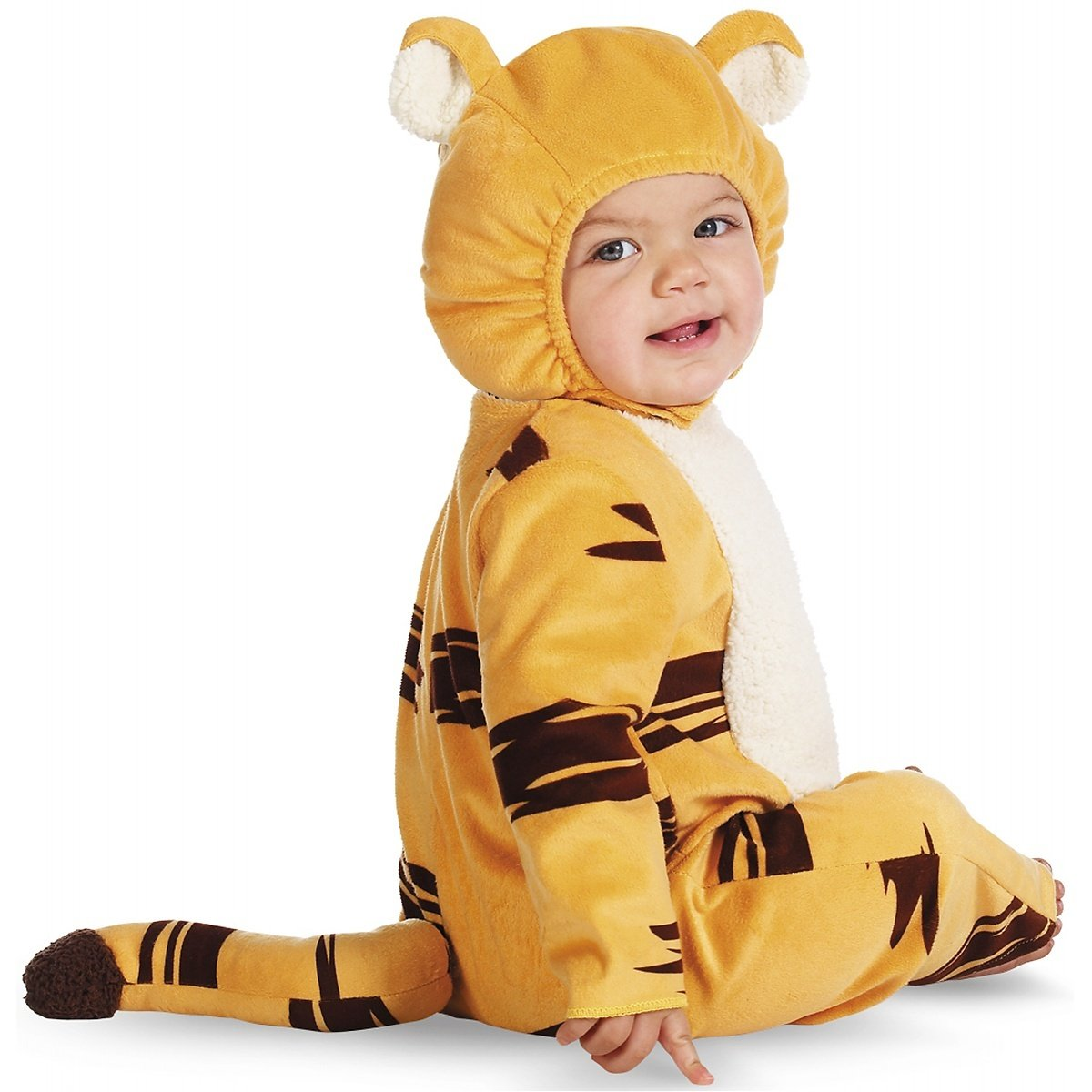 sc 1 st  Amazon.com & Amazon.com: Disney Disguise Babyu0027s Tigger Prestige Costume: Clothing