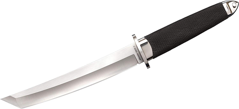 Cold Steel San Mai Tanto Series Fixed Blade Knife - Made with Premium San Mai Steel