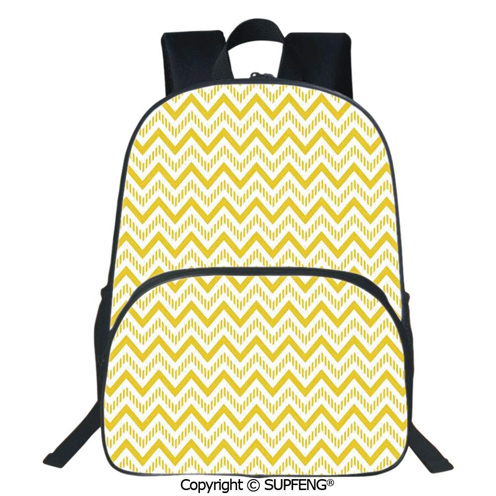 Geometric Chevrons Customizable Sports Bag