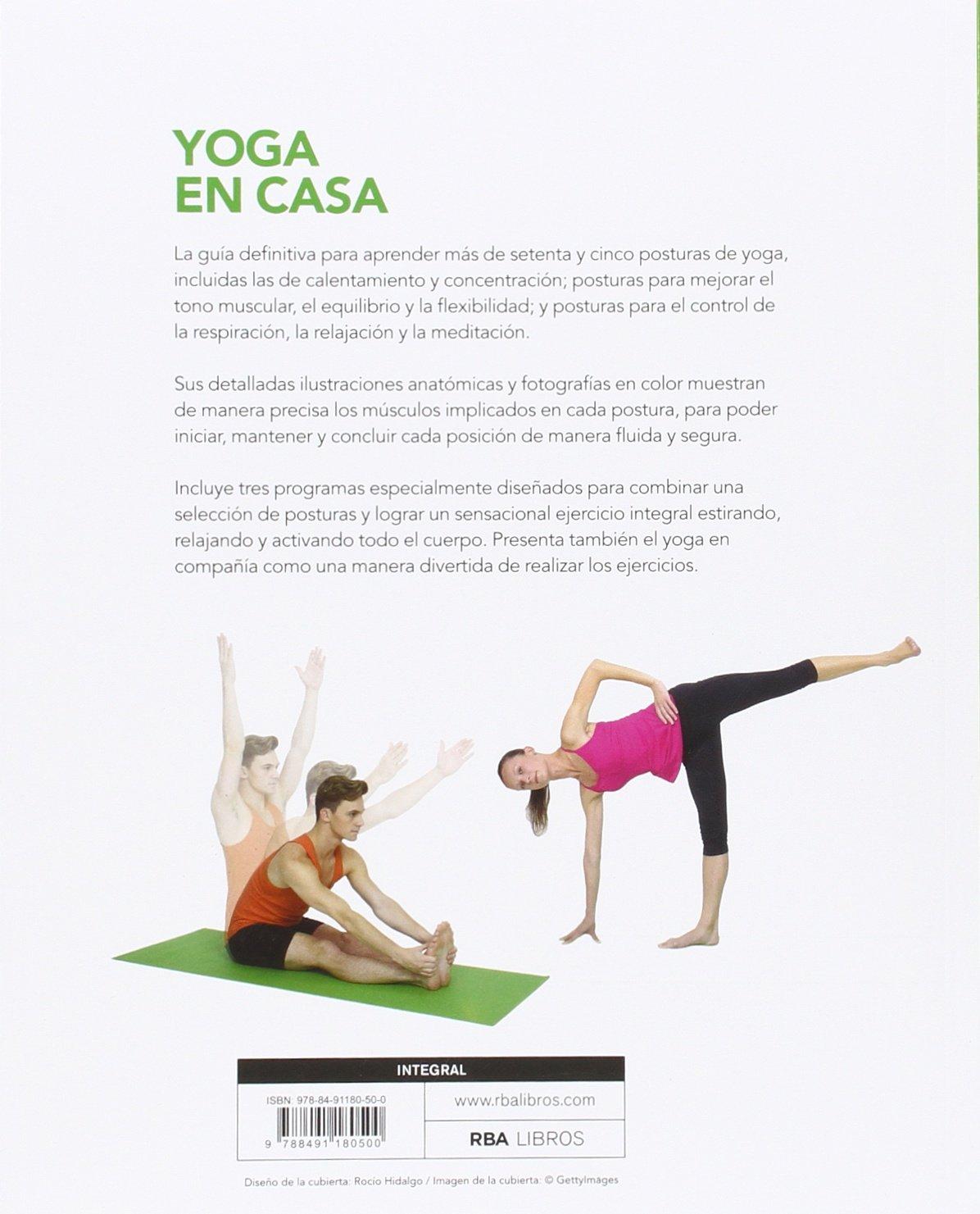 Yoga en casa (Spanish Edition): Betsy Kase, RBA ...
