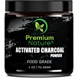 Activated Charcoal Teeth Whitening Powder - Natural Whitener Plaque Remover Sensitive Tooth Bad Breath Brush Gums Toothpaste Face Wash Skin Cream Treatment Wow Blanqueador De Dientes Hardwood Black