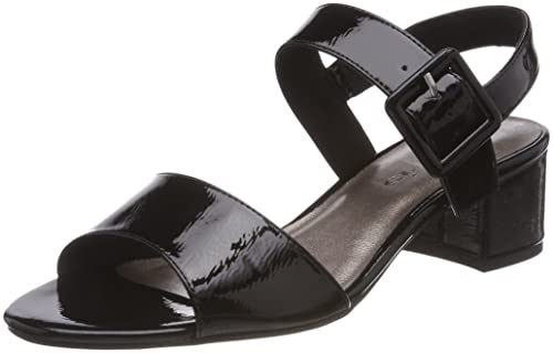 TAMARIS LACK SANDALEN 1 28211 20 Damen Sandaletten beige