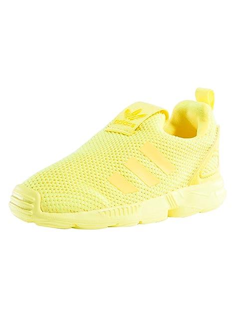 buy online 5480a 59988 adidas ZX Flux 360 Sc i, Sneaker Unisex – Bimbi 0-24, Giallo