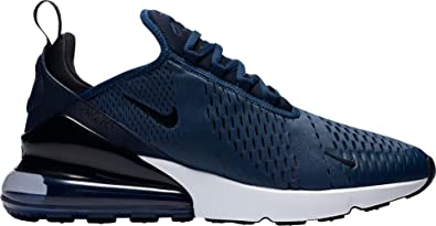 pretty nice 0d6d3 b95da Nike Men s Air Max 270 Shoes (8, Navy Black)