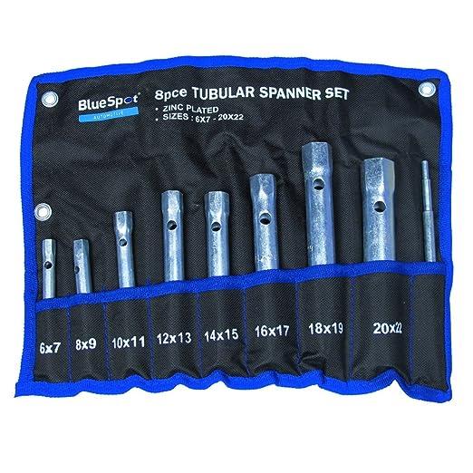 5 opinioni per Blue Spot 04308- Set di 8 chiavi a tubo
