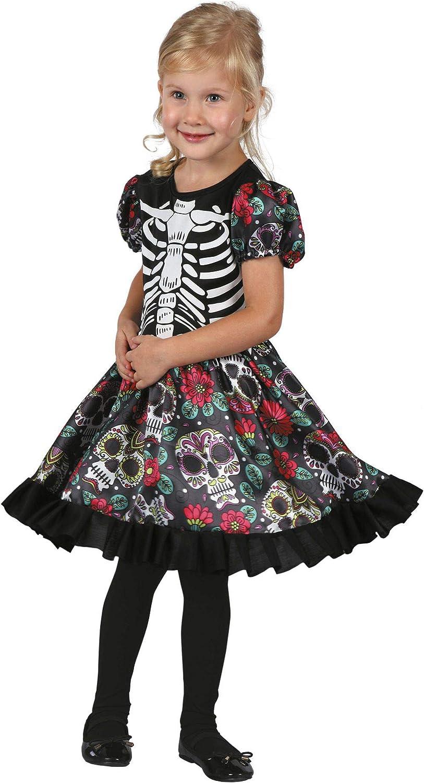 BOLAND BV Disfraz de Catrina Coqueta para niña A-3/4 años: Amazon ...