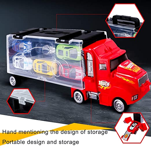 Rolytoy VraiJouet Auto Spielzeug Kinder LKW Truck Tragbarer