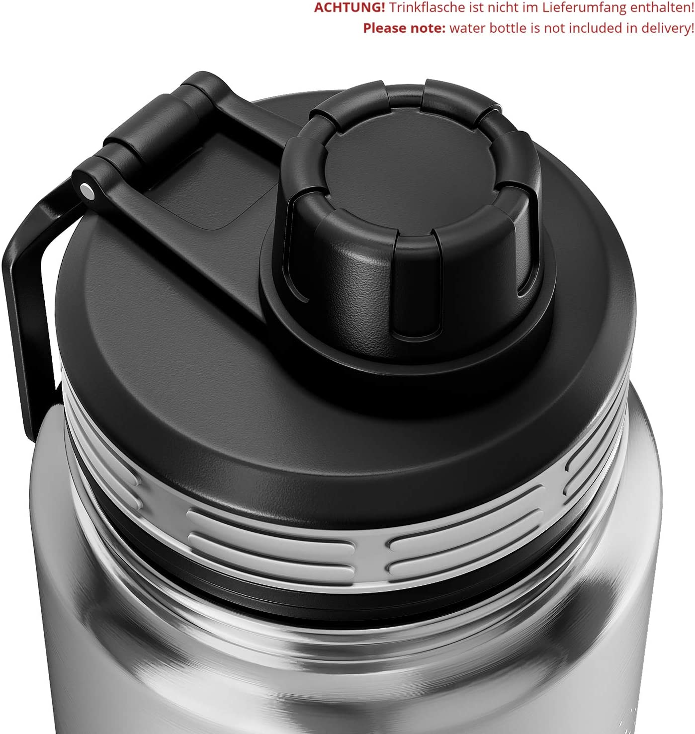 Fits all models BeMaxx Extra Drinking Cap//Lid for all ACTIVE FLASK Water Bottles BPA-free