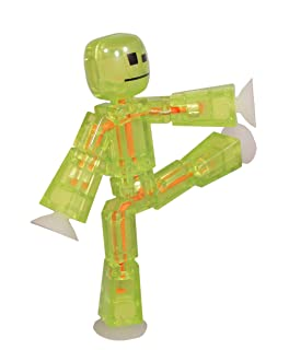 Stikbot, Stikbot Figure Green, 3 Inches by Zing