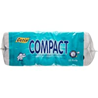 Cutie Compact 2 PLY Toilet Roll, 10 Rolls, (Pack of 3)
