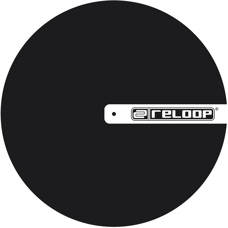 Reloop - Alfombrilla para tocadiscos, con logotipo, color ...