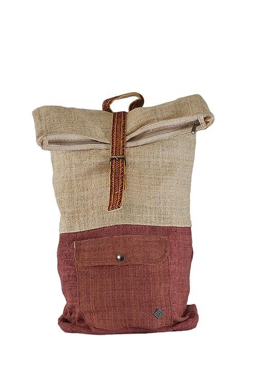 ochila única de cáñamo plegable, ropa alternativa sostenible - Klassisch