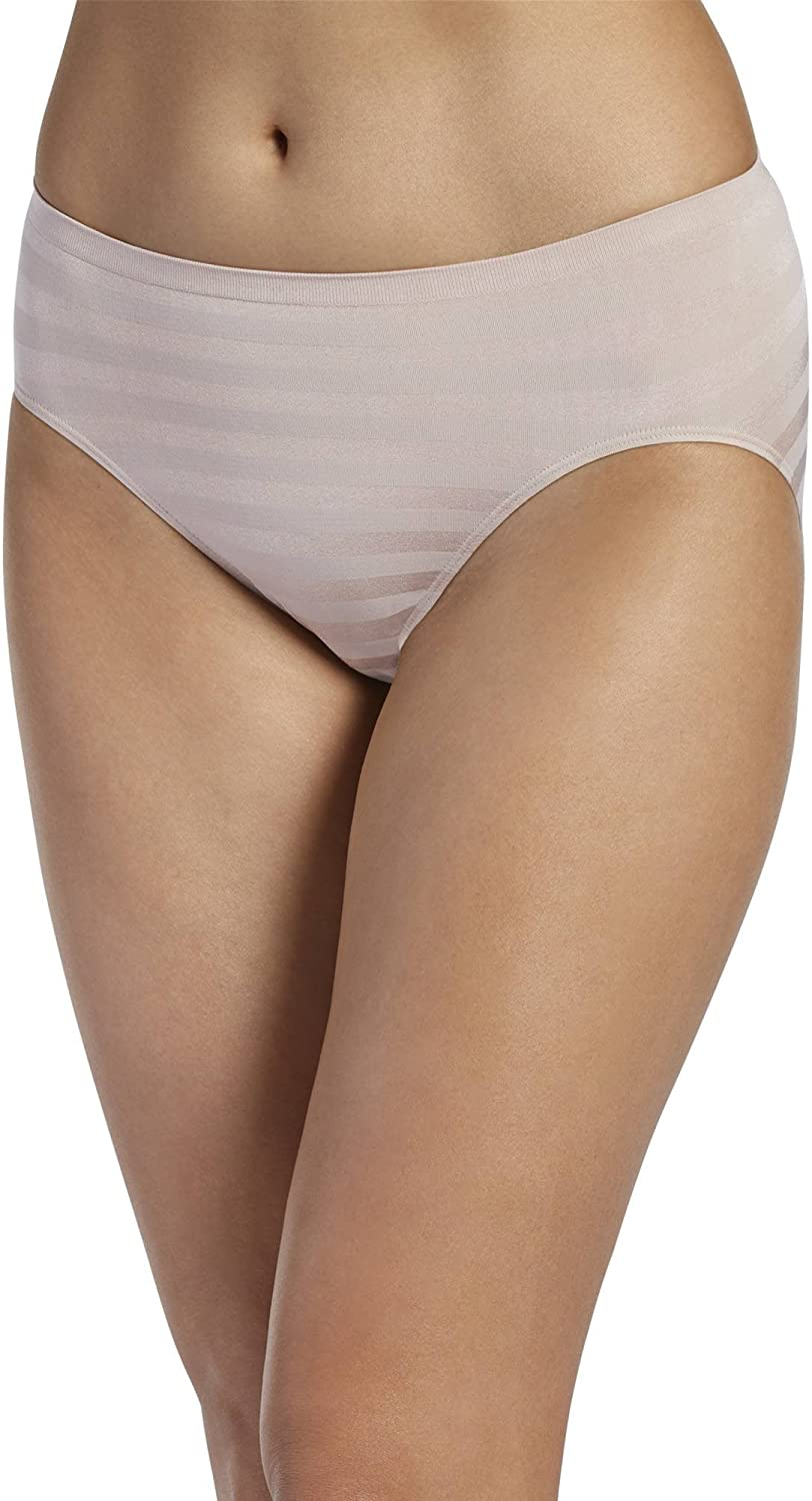 Jockey Womens Underwear Matte and Shine Hi Cut