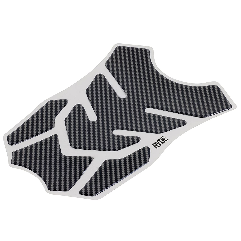 Ryde Universal 4 Piece Tank Protector Pad Carbon Fibre Effect