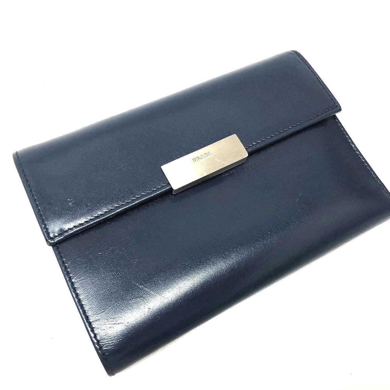 (プラダ) PRADA M510 三つ折り財布(小銭入れあり) レザー/レディース 中古 B07FPPS8J1  -