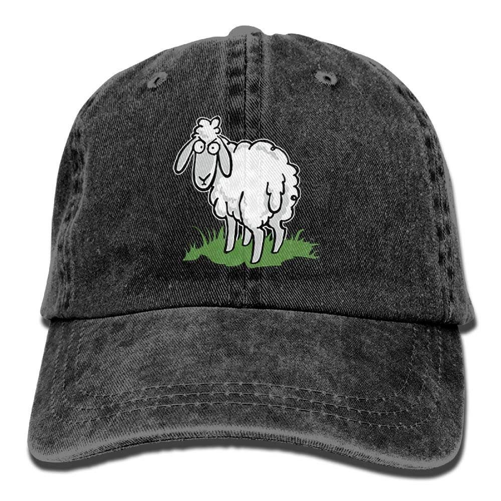 bowlife Baaaaaa Means No Sheep Denim Cap Dad Cap