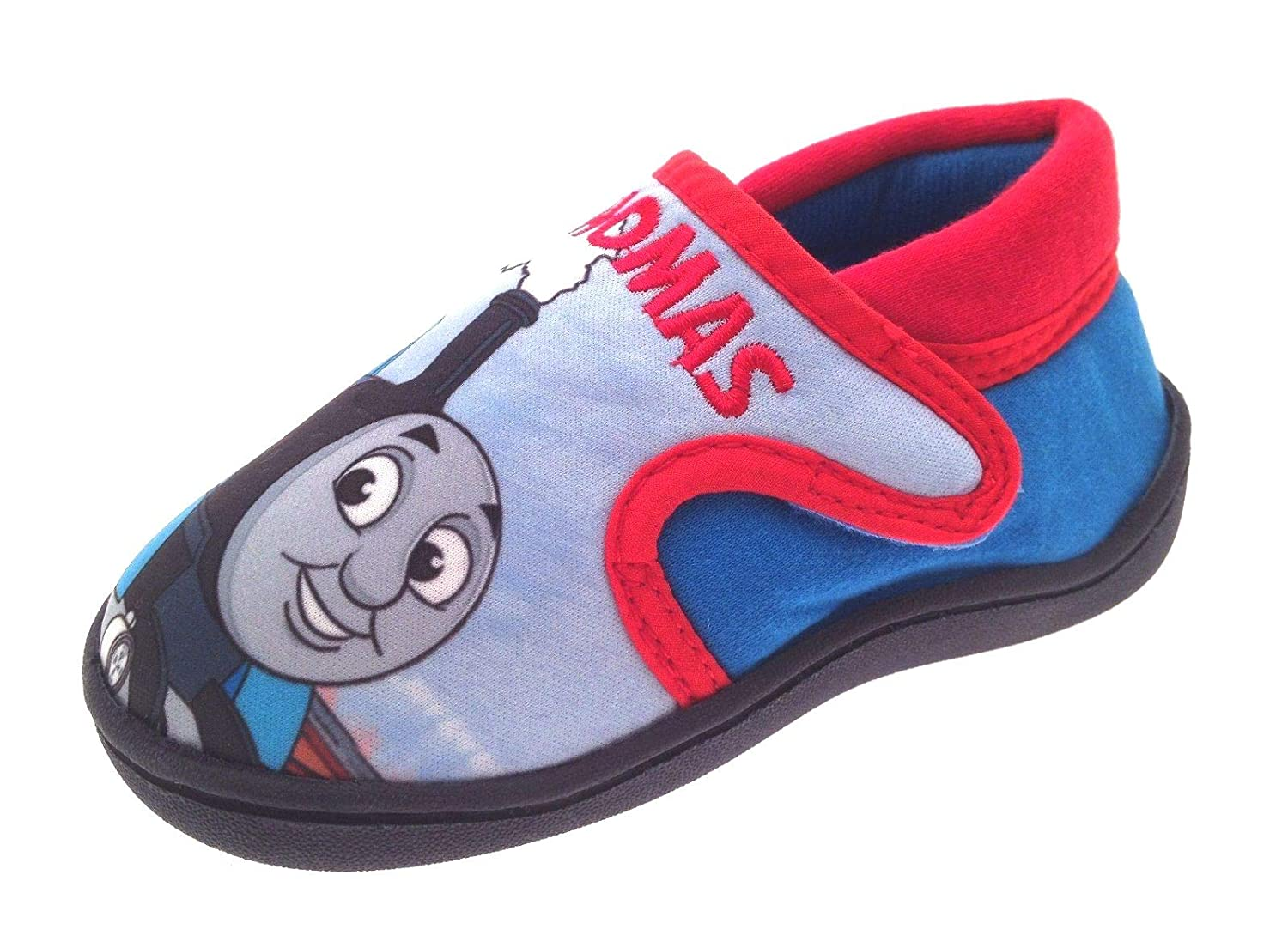 Thomas The Tank Engine Slippers Easy Wear Touch Fastening