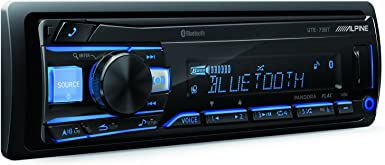 Alpine UTE-73BT Advanced Bluetooth Mech-Less Digital Media Receiver Does not Play CDs
