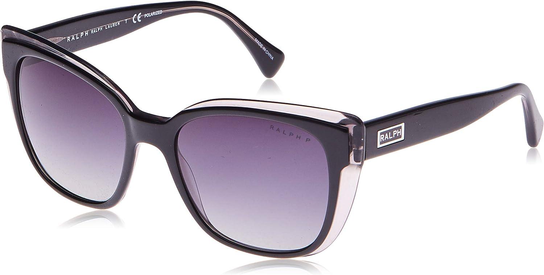 Ralph Lauren RALPH BY 0RA5242 Gafas de Sol, Black On Grey, 55 para Mujer: Amazon.es: Ropa y accesorios