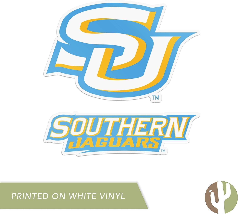 4 Inch Set Southern University Sticker Vinyl Decal Laptop Water Bottle Car Scrapbook