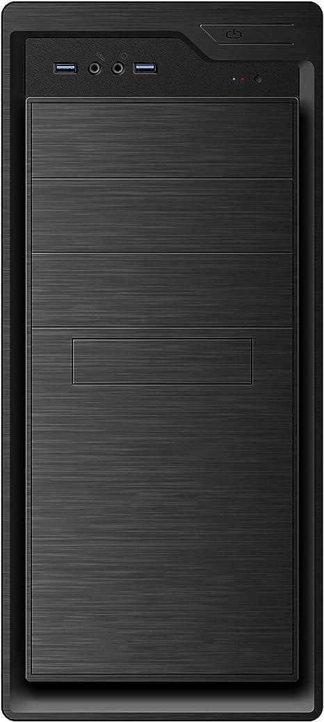 Coolbox Caja Semitorre/ATX F800 500W USB3.0, Negro, 185x420x400 mm: Coolbox: Amazon.es: Electrónica