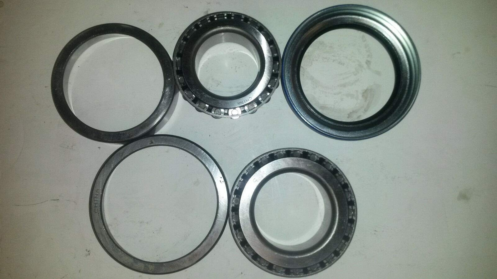 ALKO Wheel Bearing Kit 10K GD Trailer Axle Oil Seal 10,000# Rockwell Hayes #99 by Unbrand