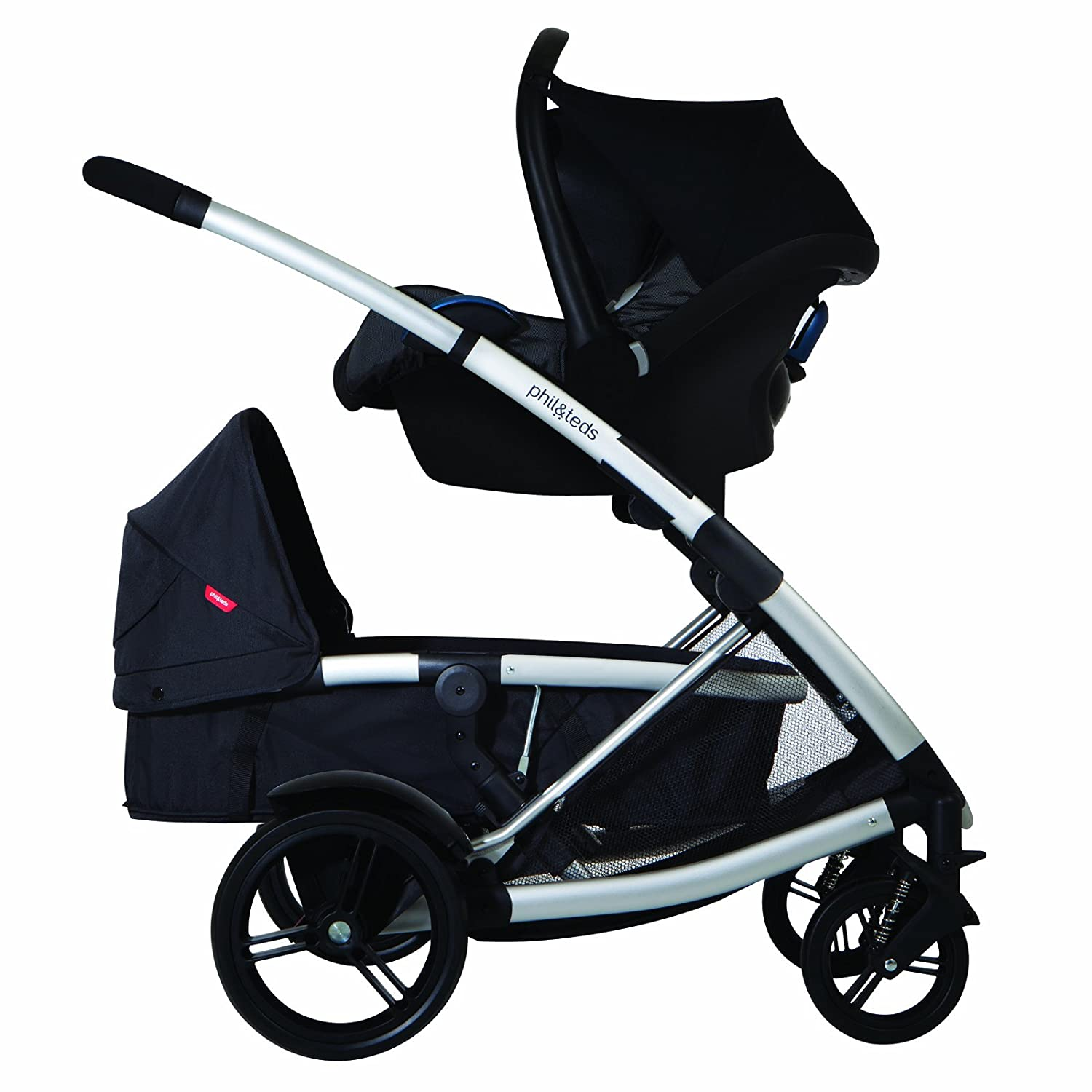 Amazon.com: phil&teds Promenade & Smart Lux and Mountain Buggy ...