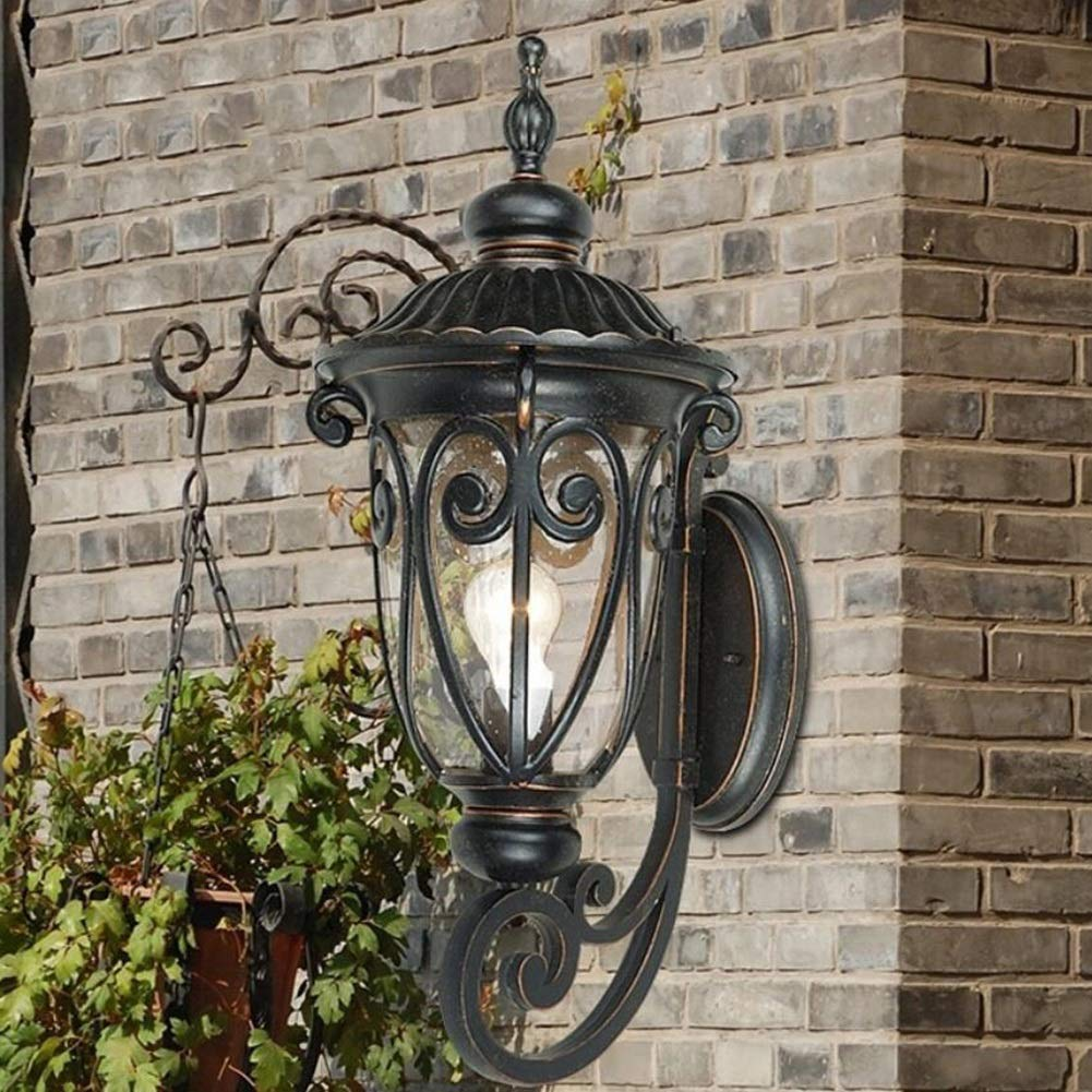 YAXuan Lampe Europäische Retro Wandleuchte, Wandleuchte, Wandleuchte, Wasserdichte Hof Garten Villa Outdoor Balkon LED Flur Tür Outdoor kreative Wandleuchte Lampe B07MMJGYSH   Moderate Kosten  a87f1f
