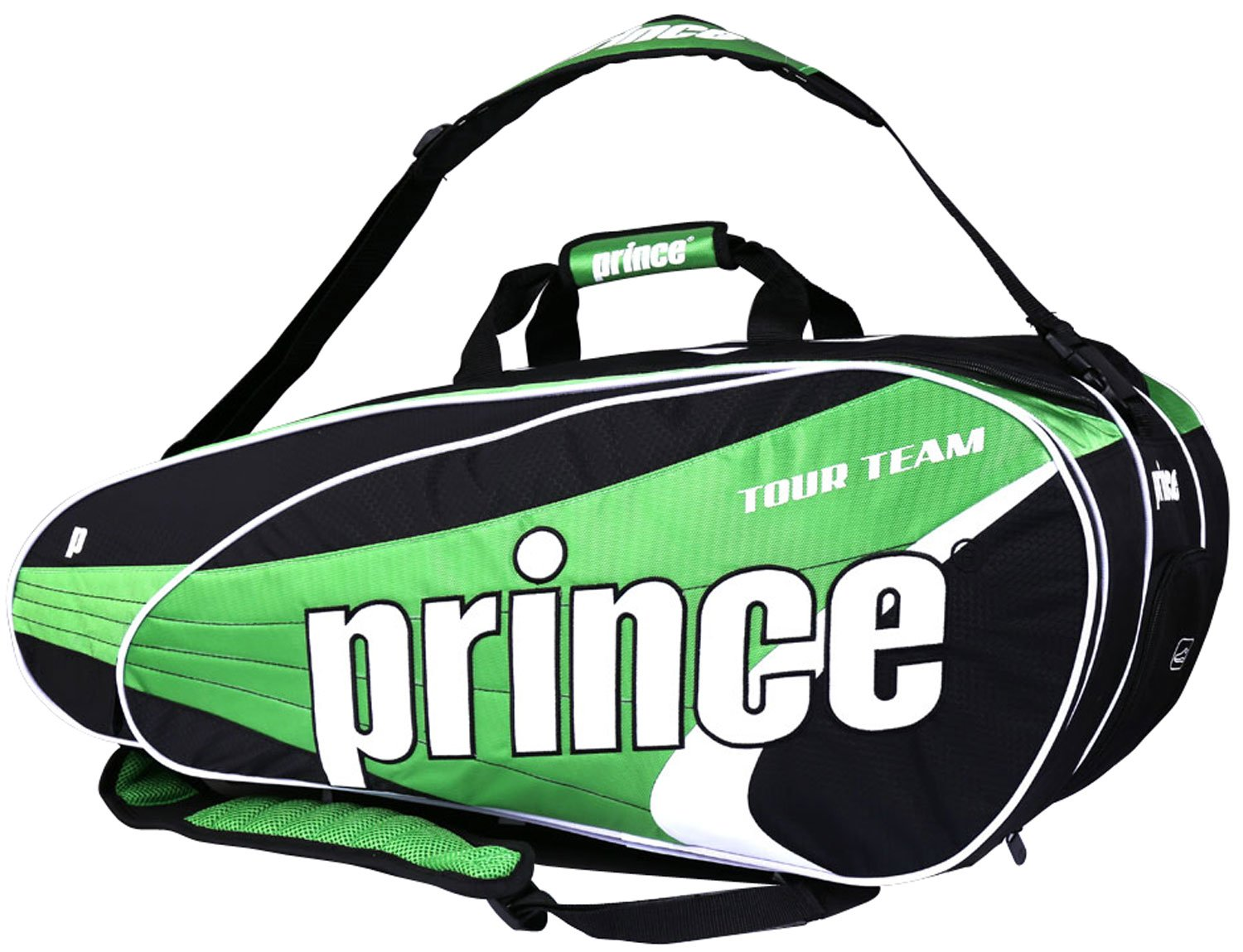 Prince Tour Team Green 12-Pack Tennis Bag (2014-15) by Prince (Image #1)